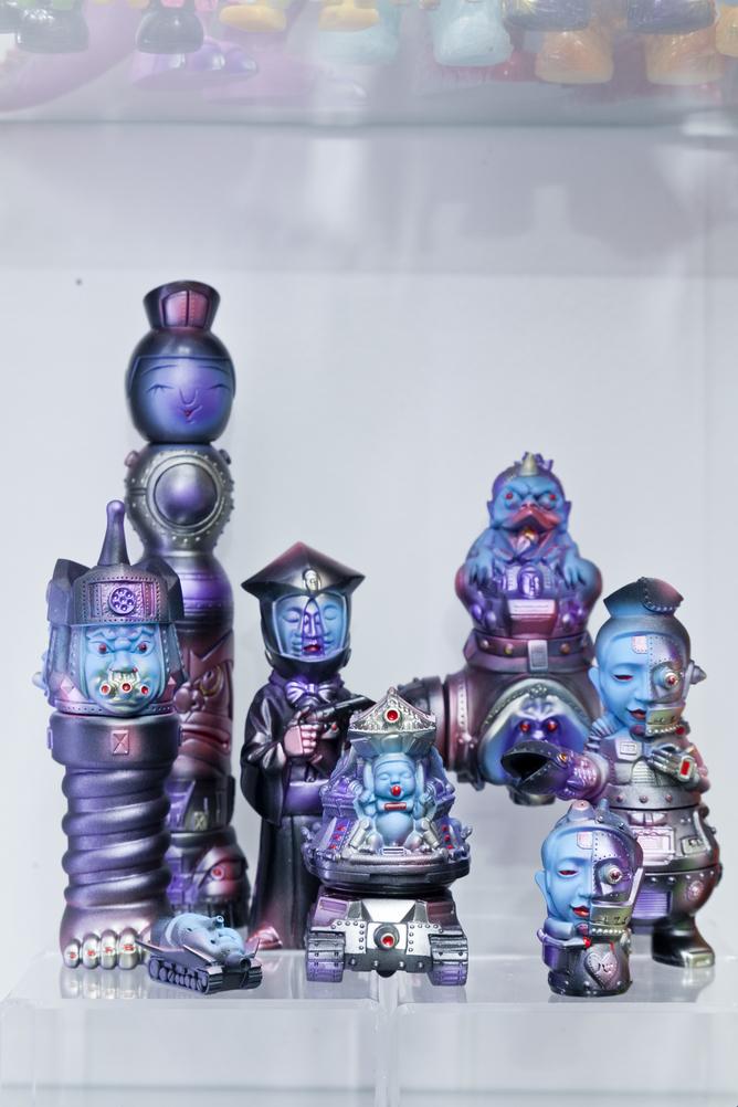 """來自日本的""""Mirock Toy""""以觀音頭為最大特色,而且可以自行組裝,增加可玩性。"""
