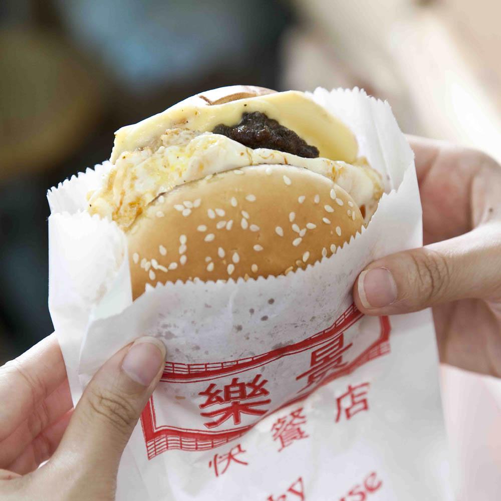 港式漢堡 新鮮 抵食 夾大件!