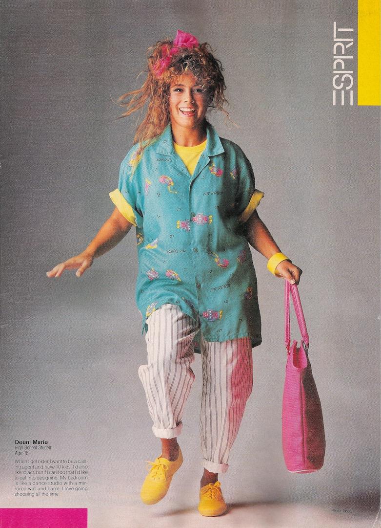 Стиль 80-х годов в одежде женщины: фото, особенности жанра, образы 54
