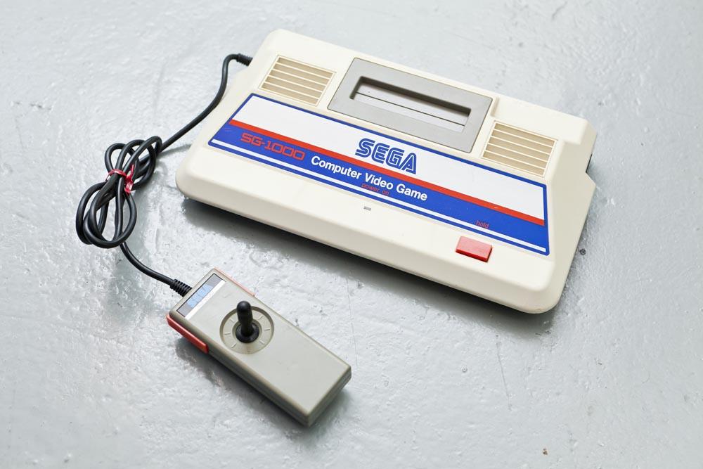 第一代世嘉遊戲機相信很多機迷也未見過。