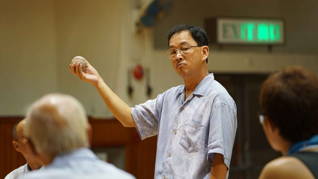 廖啟智飾校長 x 球隊教練:「校長沒說過要你們贏,但我有說過,要你們不要放棄。」